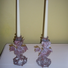 DECORATIVE CANDLESTICKS