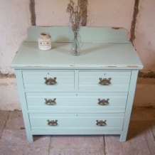 EDWARDIAN DRAWERS IN SHABBY CHIC STYLE