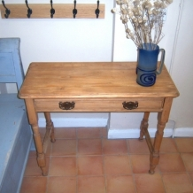 ANTIQUE PINE CONSOLE TABLE