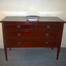 LONG EARLY 1900s CHEST OF DRAWERS