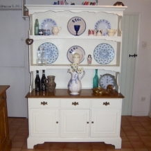 LARGE, GOOD QUALITY, PAINTED DRESSER