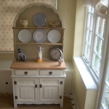 EXTREMELY PRETTY, SOLID OAK DRESSER