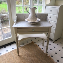 FRENCH PAINTED WASHSTAND