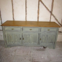 LARGE SHABBY CHIC DECORATIVE SIDEBOARD