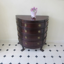 DEMI LUNE 12 DRAWER CHEST