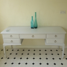 STAG DRESSING TABLE, HAND PAINTED