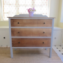 SOLID OAK VINTAGE DRAWERS