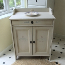 SHABBY CHIC, SOLID PINE CABINET